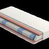 Siedmiostrefowy materac sprężynowy SYRIUSZ P3