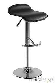 Swinger to krzesło barowe o delikatnym i eleganckim wyglądzie. Zgrabnie ukształtowane siedzisko pokryte jest miłą w dotyku eko-skórą. Hoker posiada...