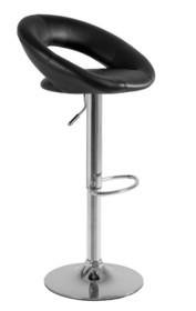 Carino to krzesło barowe o eleganckim i nowoczesnym wyglądzie. Miękkie siedzisko z grubą warstwą gąbki pokryte jest miłą w dotyku eko-skórą. Hoker...