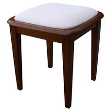 Stylowy taboret Alfa, stelaż wykonany z drewna bukowego, siedzisko tapicerowane. Krzesła wysyłane w całości.  Produkt wykonywany na indywidualne...