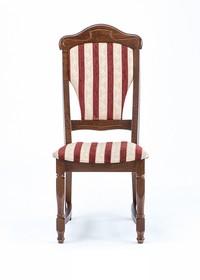 Stylowe krzesło Baron, stelaż wykonany z drewna dębowego, siedzisko i oparcie tapicerowane. Krzesła wysyłane w całości.  Produkt wykonywany na...