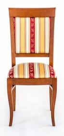 Klasyczne krzesło Lord, stelaż wykonany z drewna dębowego, siedzisko i oparcie tapicerowane. Krzesła wysyłane w całości.  Produkt wykonywany na...
