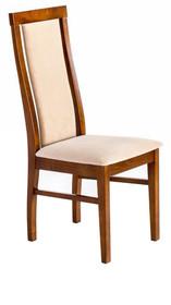 Nowoczesne krzesło do jadalni, stelaż wykonany z drewna dębowego, siedzisko i oparcie tapicerowane.  Wymiary: Wysokość : 103 cm Szerokość : 44cm...