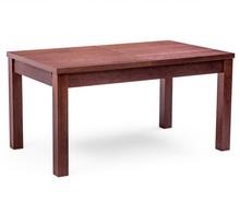 Nowoczesny drewniany stół FIGARO, oskrzynia i nogi wykonane z drewna dębowego, blat płyta okleinowana fornirem naturalnym. Stół rozkładany co 50cm,...