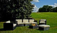 Zestaw mebli ogrodowych ELEGANTE  Przedstawiamy niepowtarzalny pod względem wzornictwa zestaw mebli ogrodowych ELEGANTE, oferujemy unikalną stylistykę...