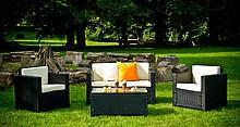 Odpowiedni zaprojektowany i z pasją wykonany zestaw ogrodowy VENTURA, ozdobi nie tylko twój ogród ,ale także zapewni Państwu wygodny odpoczynek. Meble...