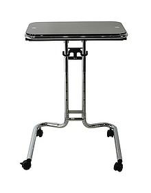 Laptop Desk to oryginalny i praktyczny stolik o wielu zastosowaniach. Dzięki wykorzystaniu szkła i chromu wygląda bardzo efektownie i elegancko....