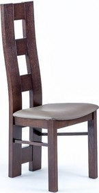 Drewniane, dębowe krzesło Wiktor K Wysokość : 110cm Szerokość : 46cm Głębokość : 41cm Wysokość siedziska : 47 cm  Produkt wykonywany na...