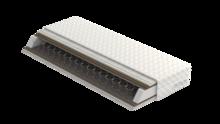 Materac Polaris Plus  Wkład: zawiera sprężyny typu bonnell 5-cio zwojową z drutu 2,4 mm o wysokości 15 cm, przekładki tapicerskie, maty kokosowe,...