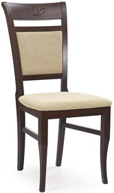Drewniane krzesło JAKUB ciemny orzech