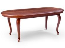 Stylowy stół ARES, oskrzynia i nogi wykonane z drewna dębowego, blat płyta okleinowana fornirem naturalnym. Stół rozkładany, wkładki trzymane w stole....