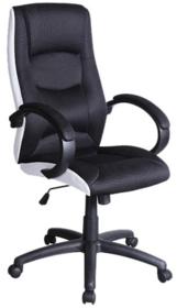 Elegancja i klasa! Nowoczesny, czarno-biały fotel obrotowy Q-041 to idealne rozwiązanie dla wnętrz nowoczesnych i designerskich. Ten niezwykle wygodny...