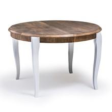 Stylowy stół MAXIM, oskrzynia i nogi wykonane z drewna dębowego, blat płyta okleinowana fornirem naturalnym. Stół rozkładany co 50cm, wkładki trzymane...