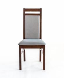 Klasyczne krzesło do jadalni ZEFIR, stelaż wykonany z drewna bukowego, siedzisko tapicerowane Wysokość : 96cm Szerokość : 45cm Głębokość : 42cm...
