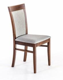 Nowoczesne krzesło do jadalni EWITA, stelaż wykonany z drewna bukowego lub dębowego (dopłata 60 zł), siedzisko tapicerowane. Wysokość : 93cm...