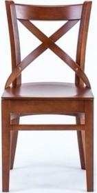 Klasyczne krzesło do jadalni OPAL VAR, stelaż wykonany z drewna bukowego,  Wymiary: - wysokość: 84 cm - szerokość: 45 cm - głębokość: 55 cm -...