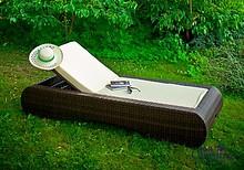 DELICATO to bardzo eleganckie i wygodne łóżko wykonane z technorattanu. Idealne do wypoczynku w ogrodzie, przy basenie czy na plaży. Materiał zapewnia...