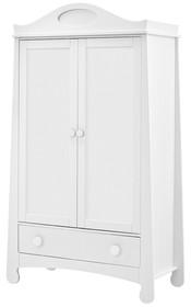 Szafa dwudrzwiowa z kolekcji Parole z pojemną szufladą na całej szerokości mebla. Drzwi oraz szuflada posiadają wysokiej jakości prowadnice i zawiasy z...