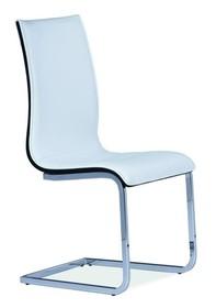 Krzesło H-133 - biały/czarny