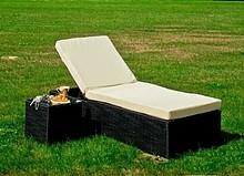 Łóżko ogrodowe AMATO  Szykowne łóżko AMATO wykonane z technorattanu. Materiał jest niesamowicie odporny na szkodliwe działanie warunków...