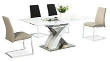 Stół rozkładany RAUL 140x85 - biały