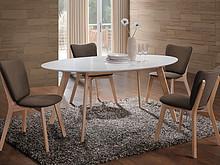 Spędzanie czasu przy wspólnym stole to idealna okazja do rozmów i smakowania pyszności. Drewniany, biały stół MONTANA to idealny mebel zarówno do...