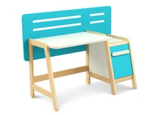 Biurko z kontenerkiem z kolekcji SIMPLE