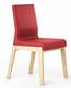 Niskie krzesło jednokolorowe z kolekcji KYLA