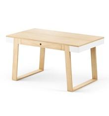 Funkcjonalny stół', pasuje zarówno do szybkiego posiłku, jak i obiadu. Posiada otwierane boczne skrzydła i dodatkowe miejsce do przechowywania...