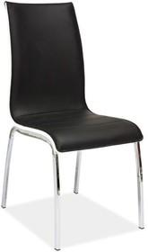 Krzesło H-135 - czarny/biały