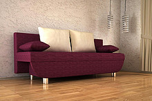 KANAPA DOMINGO   SPECYFIKACJA: > konstrukcja - płyta wiórowa, drewno > wysokiej jakości pianka poliuretanowa, materiały usztywniające >...