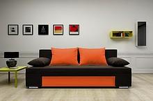 KANAPA VEGAS   SPECYFIKACJA: > konstrukcja - płyta wiórowa, drewno > wysokiej jakości pianka tapicerska, materiały usztywniające > funkcja...