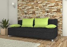 KANAPA TAKOMA   SPECYFIKACJA: > konstrukcja - płyta wiórowa, drewno > wysokiej jakości pianka poliuretanowa, materiały usztywniające >...