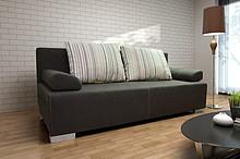 KANAPA ALABAMA   SPECYFIKACJA: * konstrukcja - płyta wiórowa, drewno * wysokiej jakości pianka poliuretanowa, materiały usztywniające * funkcja...