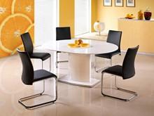 Piękno i klasa!  Stół Federico o szlachetnej, białej kolorystyce jest doskonałym rozwiązaniem do nowoczesnych, minimalistycznych wnętrz. Tak prosta...