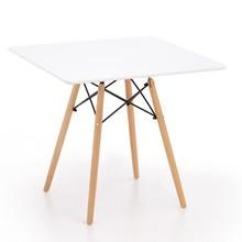 Stół kwadratowy PROMETHEUS 80x80 - biały