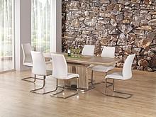 Elegancja i piękno!  Rafaello to nowoczesny stół jadalniany, który przypadnie do gustu nawet najbardziej wymagającym osobom. Cechuje się piękną,...
