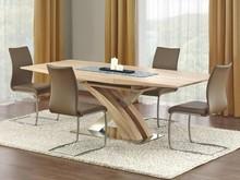 Piękno i elegancja! Stół Sandor dostępny jest w dwóch wersjach kolorystycznych. Pierwsza, lakierowana znakomicie sprawdzi się w nowoczesnych i...
