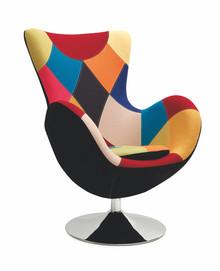 Fotel patchworkowy BUTTERFLY