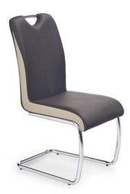 Elegancja i klasa!  K-184 to bardzo nowoczesne krzesło jadalniane, które przypadnie do gustu nawet najbardziej wymagającym klientom. Cechuje się...