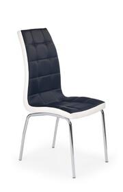 Krzesło K186 - czarny/biały