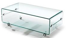 Stolik szklany PANORAMA - szkło transparentne