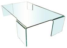 Stolik szklany NEUTRA - szkło transparentne