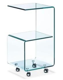 Stolik szklany SIX - szkło transparentne
