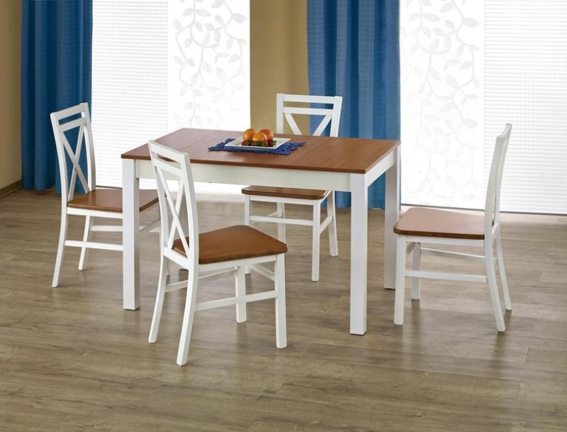Krzesło drewniane DARIUSZ 2 białe