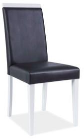 Krzesło CD-77 BIAŁY/CZARNY