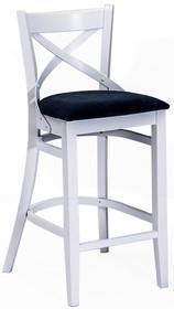 Hoker OPAL wykonany z drewna bukowego Wysokość : 104cm Szerokość : 45cm Głębokość : 42cm Wysokość siedziska : 76cm  Produkt wykonywany na...