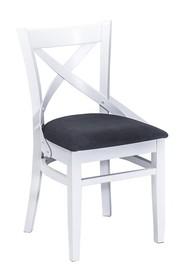 Krzesło wykonane z drewna bukowego.  Wysokość : 84cm Szerokość : 45cm Głębokość : 42cm Wysokość siedziska :46cm  Produkt wykonywany na...