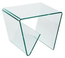 Stolik szklany MANO - transparentny