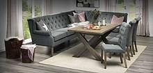 Zdjęcie przedstawia narożnik CR 3,5/2 oraz krzesła MONROE.     W przypadku zamówień pobraniowych prosimy o wpłatę 30% zaliczki. Produkty...